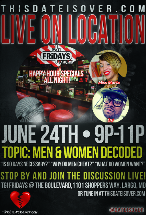 TDIO June 24th_Men & Women Decoded_LOL Fridays
