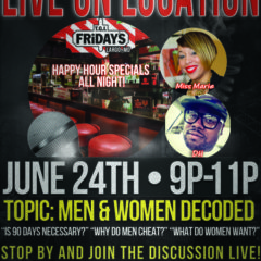 LIVE ON LOCATION – JUNE 24TH IN LARGO, MD